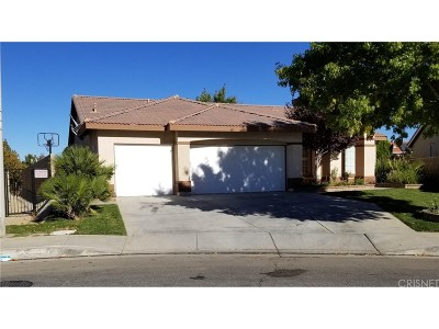 Palmdale Single Family Home For Sale: 40360 Vista Pelona Drive