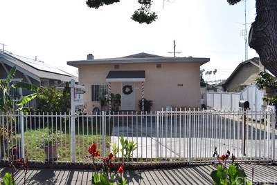 Los Angeles Single Family Home For Sale: 1942 West 43rd Street