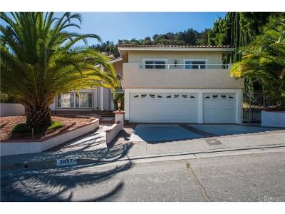 Tarzana Single Family Home For Sale: 3657 Gleneagles Drive