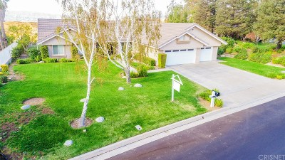 Saugus Single Family Home For Sale: 21705 Parvin Drive