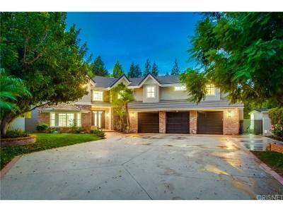 Northridge Single Family Home For Sale: 19242 Stare Street