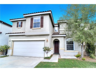 Saugus Single Family Home For Sale: 28498 Old Spanish Trails