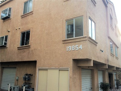 Los Angeles County Condo/Townhouse For Sale: 19854 Sandpiper Place #91