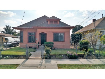 Los Angeles Single Family Home For Sale: 120 East 36th Street