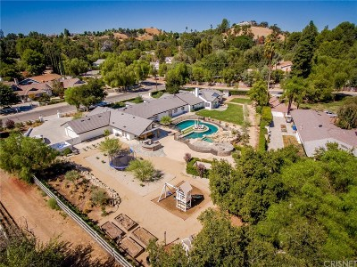 Encino Single Family Home For Sale: 15800 High Knoll Road