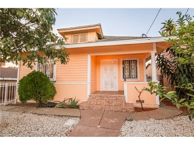 Los Angeles Single Family Home For Sale: 310 North Saratoga Street