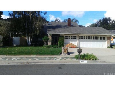 Agoura Hills Single Family Home For Sale: 3905 Patrick Henry Place