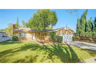 Woodland Hills Single Family Home For Sale: 22301 Haynes Street