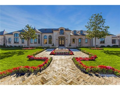 Hidden Hills Single Family Home For Sale: 24100 Hidden Ridge Road