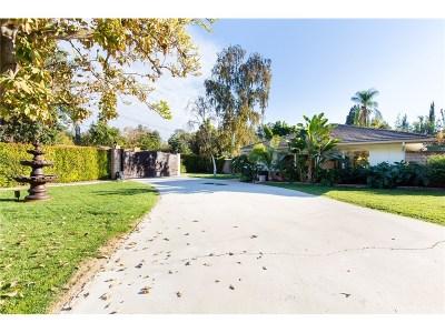 Tarzana Single Family Home For Sale: 4807 Vanalden Avenue
