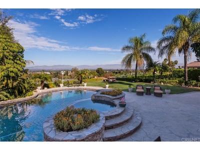 Encino Single Family Home For Sale: 18038 Karen Drive