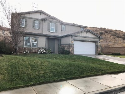 Palmdale Single Family Home For Sale: 37110 The Groves