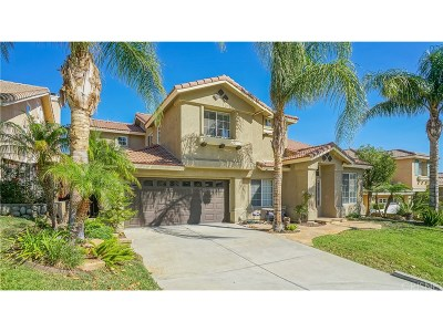 Castaic Single Family Home For Sale: 32512 The Old Road