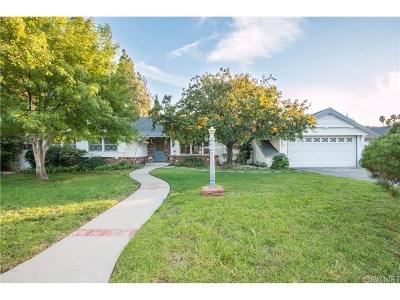 Northridge Single Family Home For Sale: 19300 Romar Street