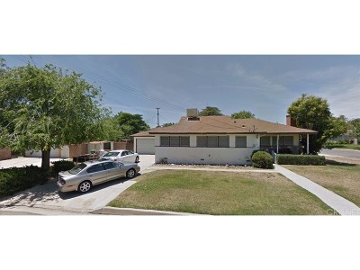 Palmdale Single Family Home For Sale: 38215 Rita Street