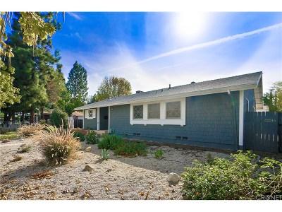 Woodland Hills Single Family Home For Sale: 22214 Vanowen Street