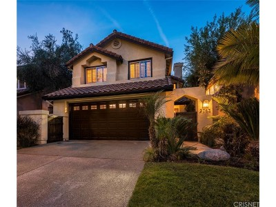 Calabasas Single Family Home For Sale: 3763 Calle Joaquin
