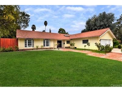 Woodland Hills Single Family Home For Sale: 23351 Los Encinos Way