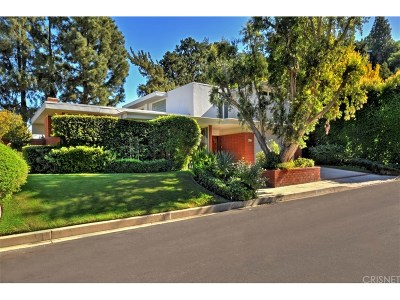 Encino Single Family Home For Sale: 3516 Terrace View Drive