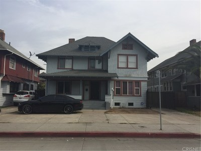 Los Angeles Single Family Home For Sale: 2818 South Normandie Avenue
