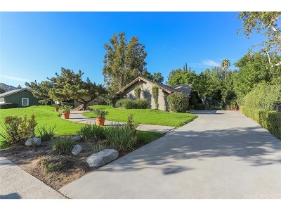 Chatsworth Single Family Home For Sale: 21625 Los Alimos Street