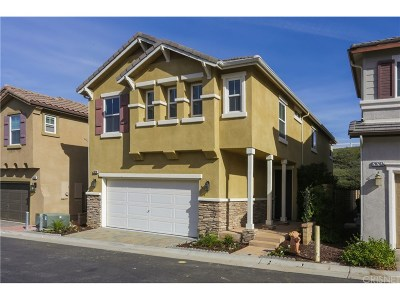 Saugus Single Family Home For Sale: 28208 Clementine Drive