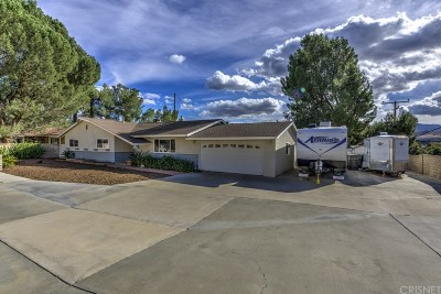 Canyon Country Single Family Home For Sale: 27919 Magic Mountain Lane
