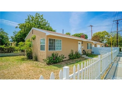Burbank Single Family Home For Sale: 301 North Keystone Street