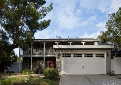 Newhall Single Family Home For Sale: 26414 Whispering Leaves Drive