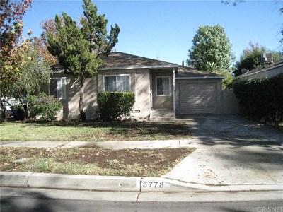 Encino Rental For Rent: 5778 Bertrand Avenue