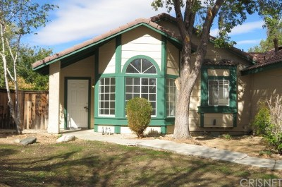Palmdale Single Family Home For Sale: 561 Spruce Court