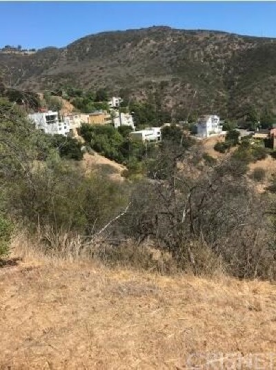 Malibu Residential Lots & Land For Sale: 1 Latigo Cyn & Ocean View