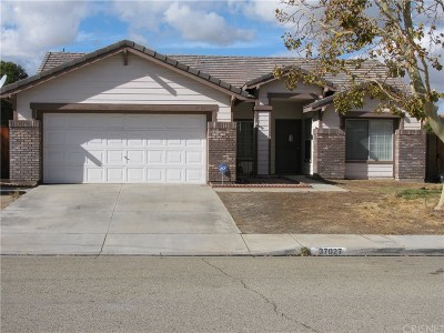 Palmdale Single Family Home For Sale: 37027 Boxleaf Road