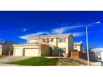 Rosamond Single Family Home For Sale: 2329 Driftwood Drive