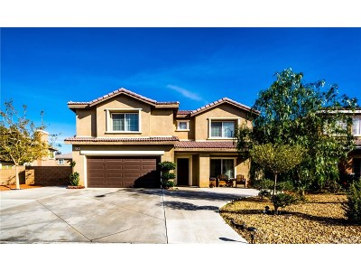 Palmdale Single Family Home For Sale: 37708 Newbury Place