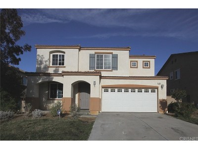 Palmdale Single Family Home For Sale: 2229 Compote Circle