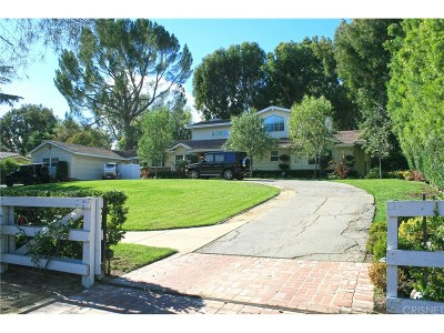 Hidden Hills Single Family Home For Sale: 5421 Round Meadow Road
