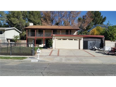 Newhall Single Family Home For Sale: 26326 Fairgate Avenue