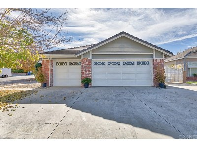 Palmdale Single Family Home For Sale: 3346 Conestoga Canyon Road
