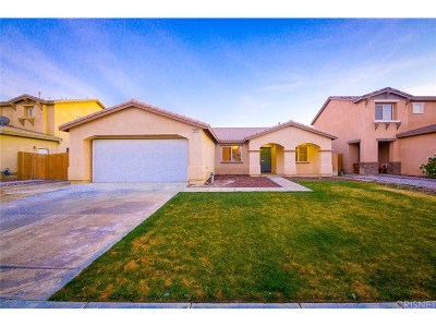 Rosamond Single Family Home For Sale: 3304 Rosegold Avenue