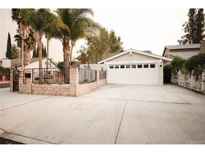 Tarzana Single Family Home For Sale: 6316 Crebs Avenue