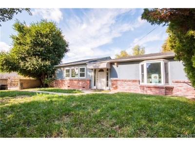 Sylmar Single Family Home For Sale: 14893 El Casco Street