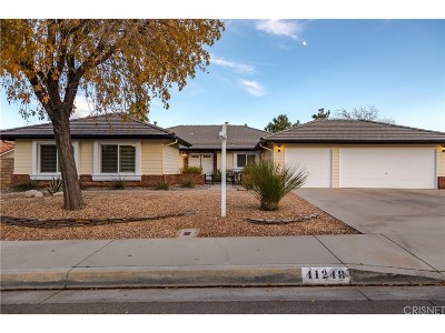 Palmdale Single Family Home For Sale: 41248 Crispi Lane
