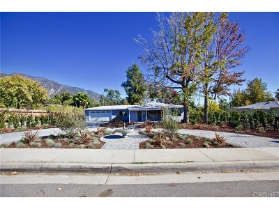 Pasadena Single Family Home For Sale: 1572 North Altadena Drive