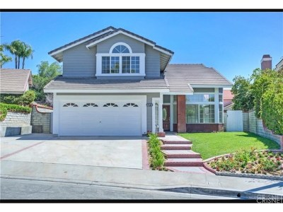 Saugus Single Family Home For Sale: 22576 Tulip Court