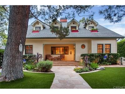 Sherman Oaks Single Family Home For Sale: 4130 Greenbush Avenue
