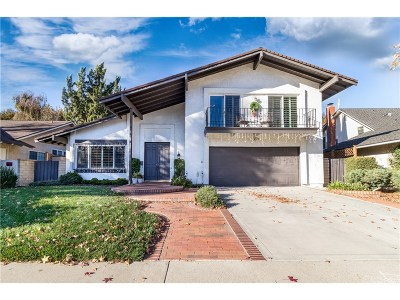 Valencia Single Family Home For Sale: 23947 Via Bocina