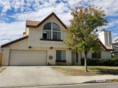 Quartz Hill CA Single Family Home For Sale: $319,900