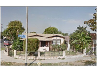 Compton Single Family Home For Sale: 16221 South Pannes Avenue