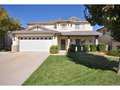 Saugus Single Family Home For Sale: 21135 Lone Star Way